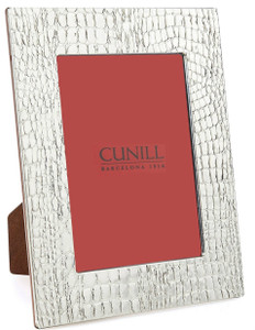 CUNILL Sterling Silver Glades 5x7 Picture Frame