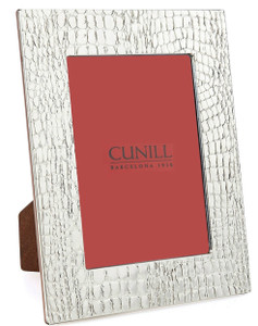 CUNILL Sterling Silver Glades 8x10 Picture Frame