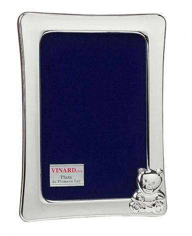 Vinard Sterling Silver Cub Vertical 4x6 Picture Frame