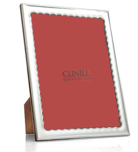 CUNILL Sterling Silver Drifts 4x6 Picture Frame