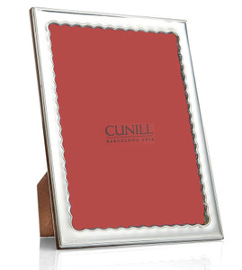 CUNILL Sterling Silver Drifts 5x7 Picture Frame