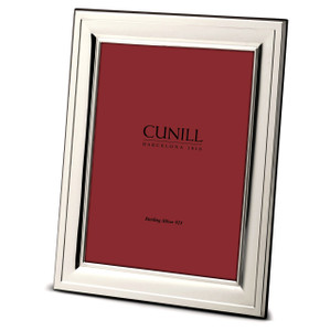 CUNILL Sterling Silver Hampton 5x7 Picture Frame