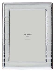 SILVERO Sterling Silver Overlay Horizon 4x6 Picture Frame