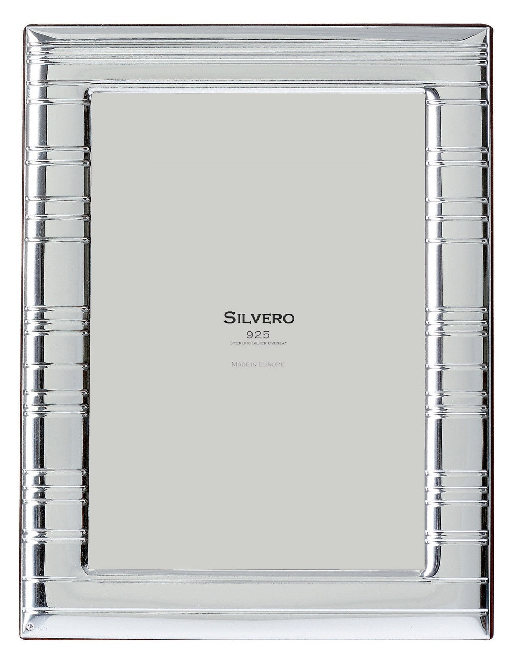 SILVERO Sterling Silver Overlay Horizon 5x7 Picture Frame - Cunill ...