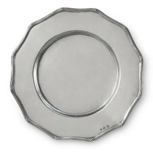 """PEWTER ITALIA Savoy Twelve Angle Platter Dia: 13"""""""