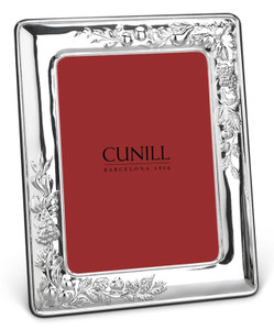 CUNILL Sterling Silver Vineyard 5x7 Picture Frame