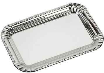 "VINARD Sterling Silver Classic Tray (6"" x 4"")"