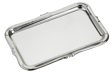 "VINARD Sterling Silver Roma Tray (7"" x 4.5"")"