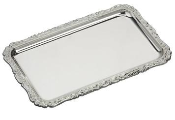 "VINARD Sterling Silver Valance Tray ( 7"" x 4.5"")"
