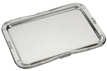 "VINARD Sterling Silver Large Roma Tray (8"" x 5.5"")"