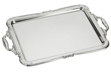 "VINARD Sterling Silver Handled Tray (10"" x 6.5"")"