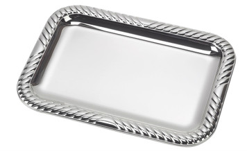 "VINARD Sterling Silver Gallons Tray (5"" x 6.5"")"