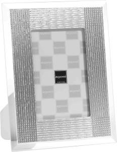 ARGENESI 999 Silver/Glass 'Batik' 4x6 Picture Frame
