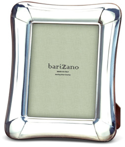 BARIZANO Sterling Silver Overlay Venetian 4x6 Picture Frame