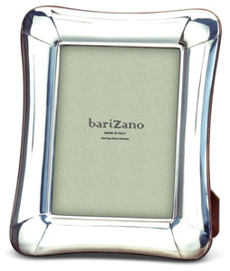 BARIZANO Sterling Silver Overlay Venetian 5x7 Picture Frame