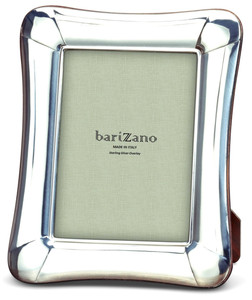 BARIZANO Sterling Silver Overlay Venetian 8x10 Picture Frame