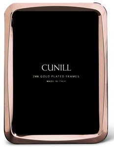 CUNILL 24K Rose Gold Plated Nova 4x6 Picture Frame