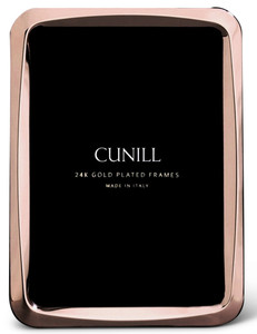 CUNILL 24K Rose Gold Plated Nova 5x7 Picture Frame