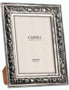 CUNILL Pewter Gardenia Picture Frame