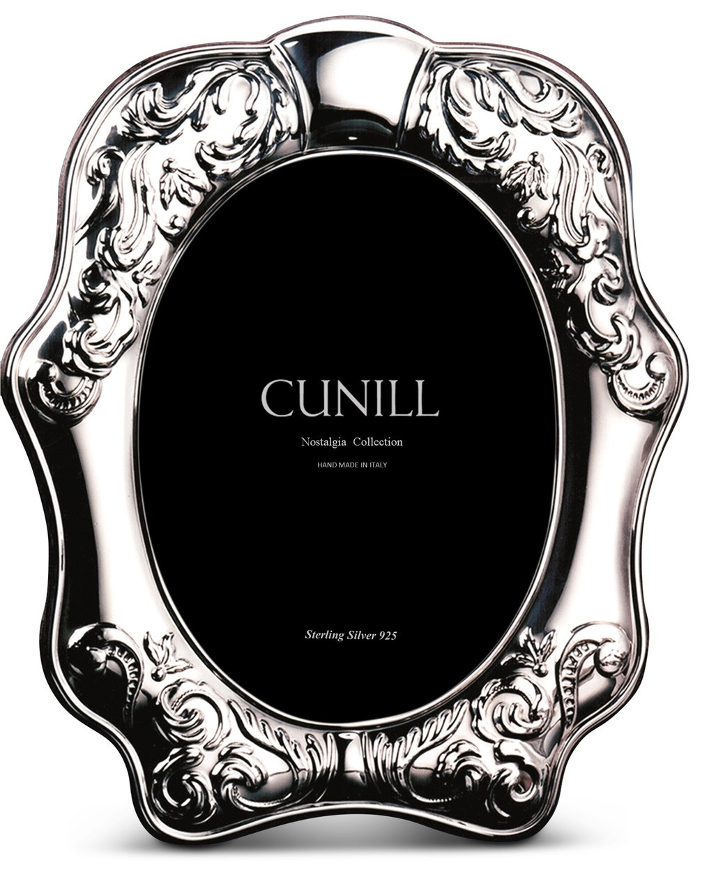CUNILL Sterling Silver Florence 8x10 Nostalgia Picture Frame
