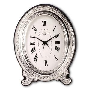 CUNILL Sterling Silver Ovale 2.5x3.5 Nostalgia Pendulum Clock