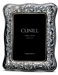CUNILL Sterling Silver Athena 8x10 Nostalgia Picture Frame