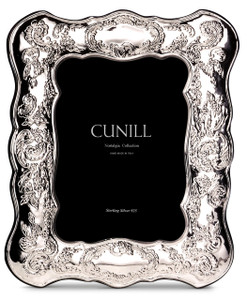 CUNILL Sterling Silver Victoria 8x10 Nostalgia Picture Frame
