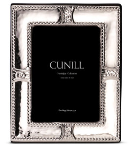 CUNILL Sterling Silver Augusta 3.5x5 Nostalgia Picture Frame