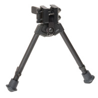 "300 Series Rubber Feet NON-Pan/Tilt 9""-12"" Bipod"