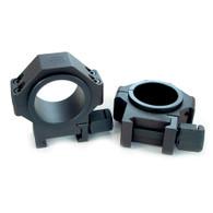 """USTS Steel 30mm Scope Rings w/1"""" Inserts 0.940"""" (660-621)"""