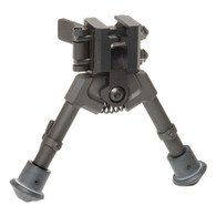 "300 Series M820 Super Short Sniper Rubber Feet NON-Panning 5""-7"" Bipod"