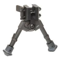 """300 Series M820 Super Short Sniper Rubber Feet NON-Panning 5""""-7"""" Bipod"""