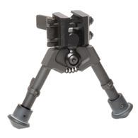 "300 Series M920 Super Short Sniper Rubber Feet with Pan 5""-7"" Bipod"
