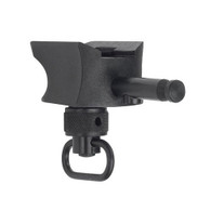 NON Canting Version of the Standard MIL-STD Picatinny Rail Adapter. Features the integrated hand-stop and push button removable sling loop.