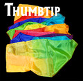 Thumbtip Silk Streamer 1 in.  x 68 in.  - Silk for Magic Trick