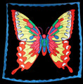 36 Inch Butterfly Production Silk - For Magic Tricks