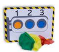 Traffic Light Magic Trick with Silks - Stage Size