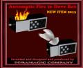 Fire to Dove Drawer Box by Tora Magic