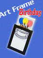 Birthday Art Frame Magic Trick