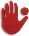 Big Red Hand Sponge Magic Trick by Goshman Magic