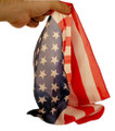 American Flag - Pure Silk - Royal Magic 16 in. x 18 in.