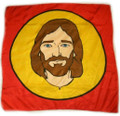 Duane Laflin Silk For Magic Tricks - Color Jesus 36""