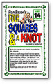 Four Squares and a Knot Magic Trick