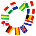 String of 12 Flags by Alberto Sitta Magic