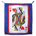 Card Blendo Silk by Alberto Sitta Magic - Queen of Hearts