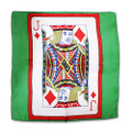 18 Inch Card Silk by Alberto Sitta Magic - Jack of Diamonds