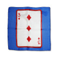 12 Inch Card Silk by Alberto Sitta Magic - 3 of Diamonds