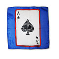 12 Inch Card Silk by Alberto Sitta Magic - Ace of Spades