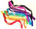 Set of Ten 1 Inch by 24 Inch Thumb Tip Streamers