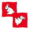 "36"" Rabbit Duck Silk by Vincenzo Difatta Magic - Red"